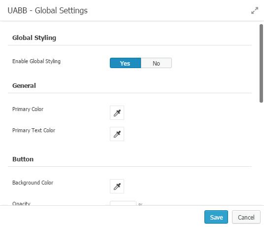 AstroHub - Global Settings