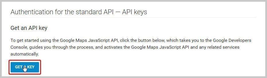 AstroHub - How to create Google API key in Google Maps module