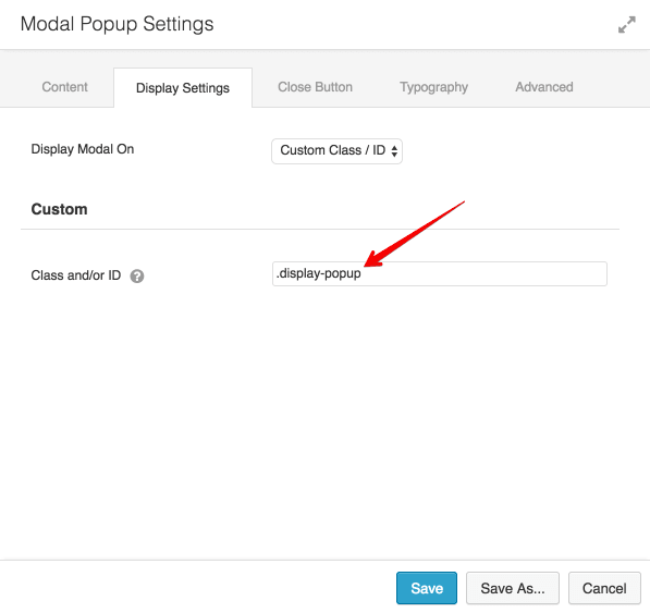 AstroHub - How to trigger a Modal Popup on the click of a Menu Element?