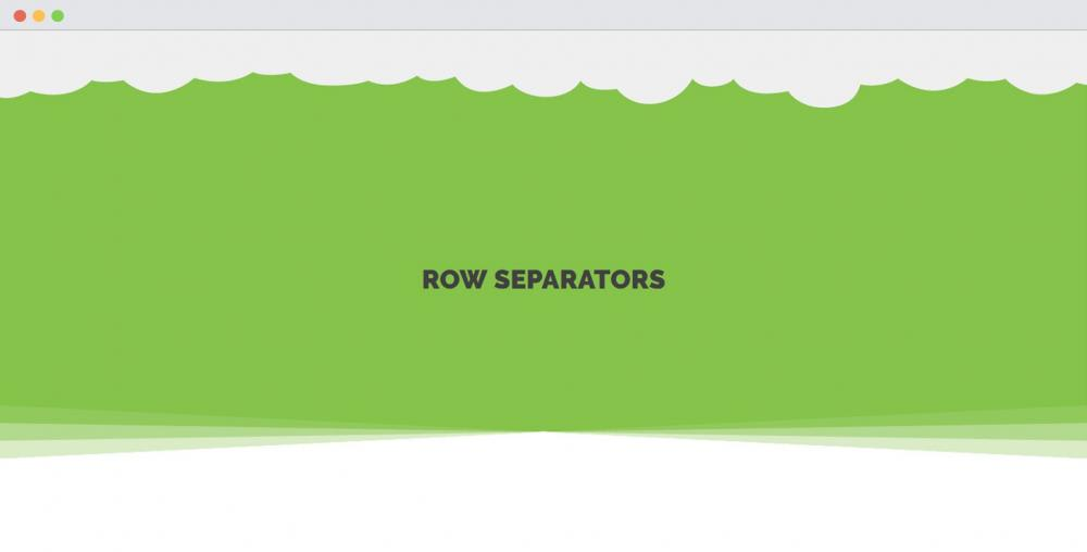 AstroHub - How to use Row Separator module effectively?